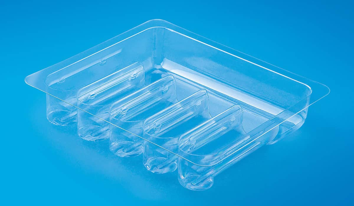 Clear PET Ampoules‏ Trays
